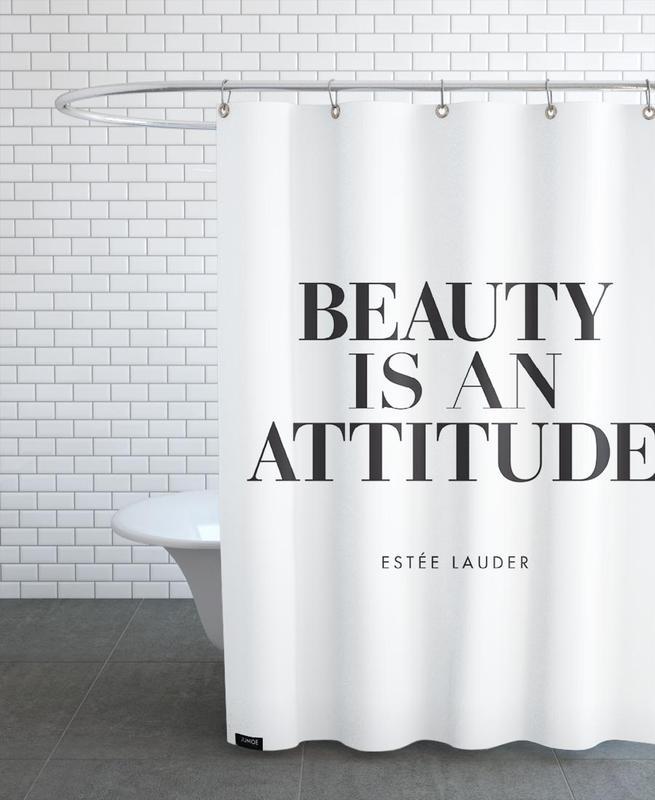 Beauty Is -Duschvorhang