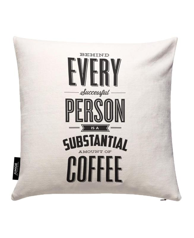 Behind Every Person Housse de coussin