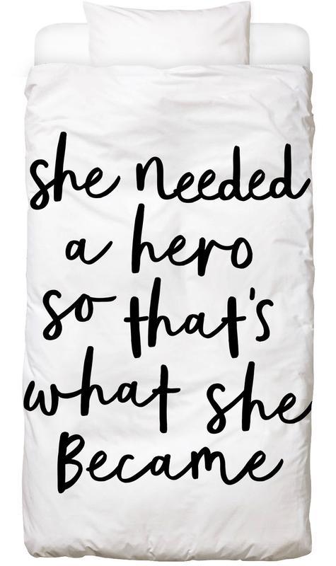 A Hero -Kinderbettwäsche