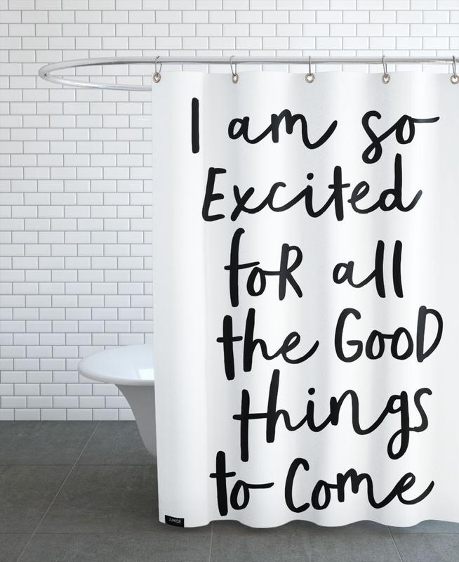 All the Good Things Shower Curtain
