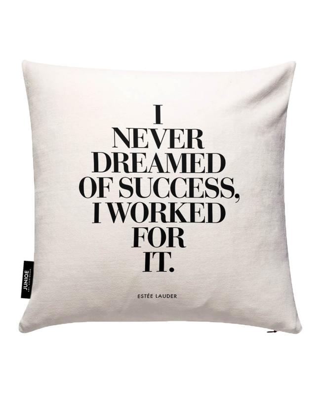 Dreamed Of Success Cushion Cover