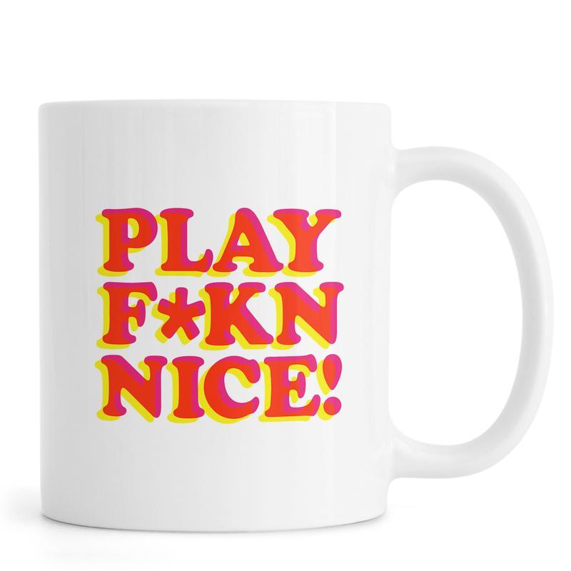 Play Fkn Nice mug