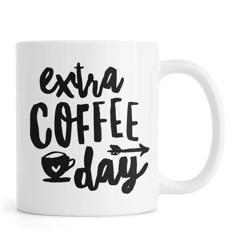 Extra Coffee Day -Tasse