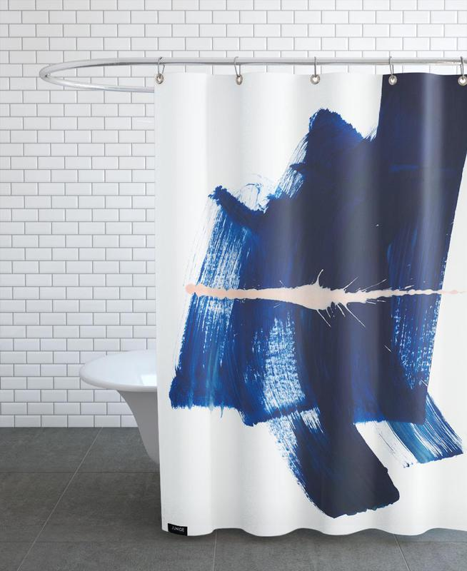 Brushstrokes 4 Shower Curtain