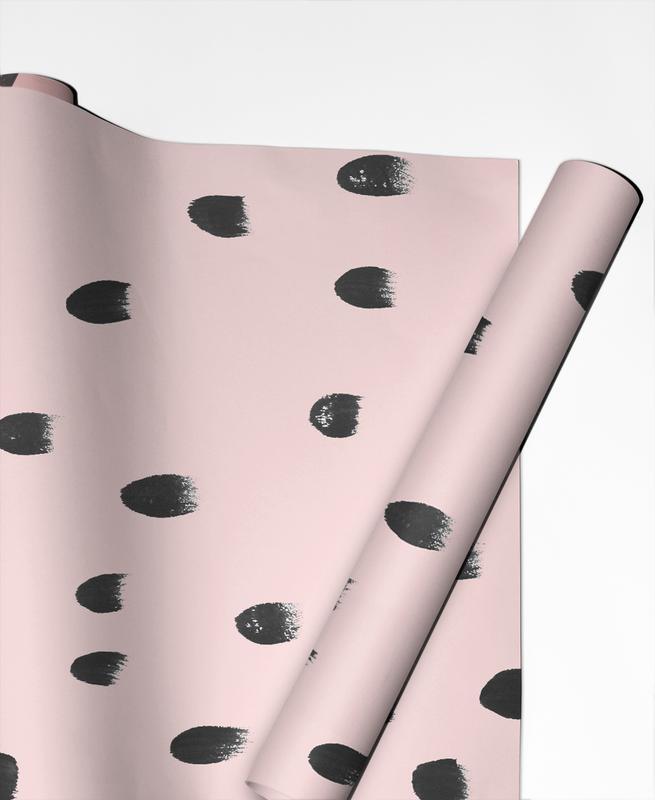 Dots On Pink -Geschenkpapier