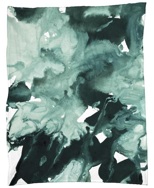 Inkblot Marble 4 -Fleecedecke