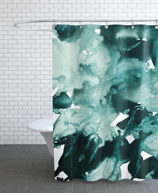 Inkblot Marble 4 -Duschvorhang
