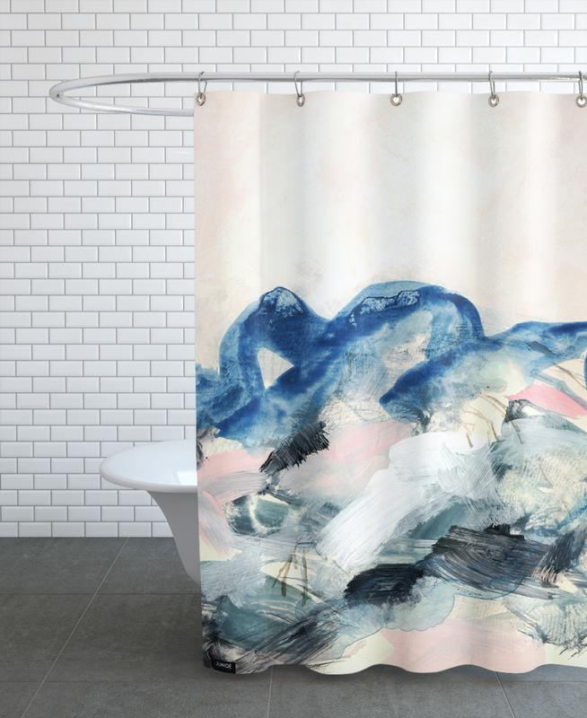 Abstract Painting II Shower Curtain