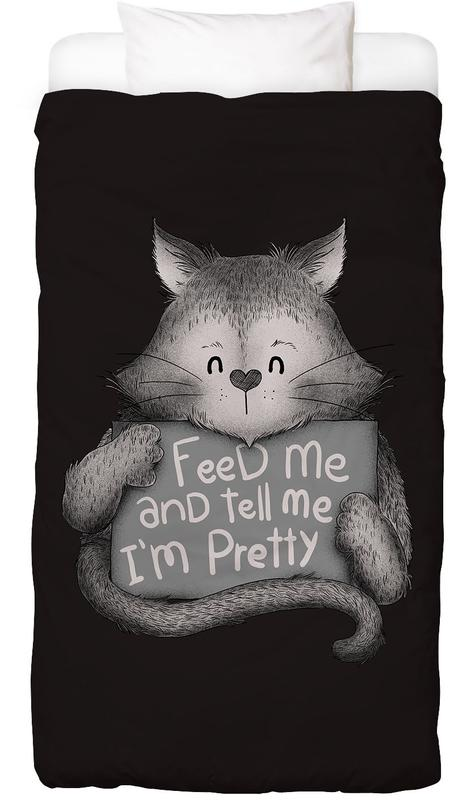 Feed Me and Tell Me I'm Pretty Bed Linen