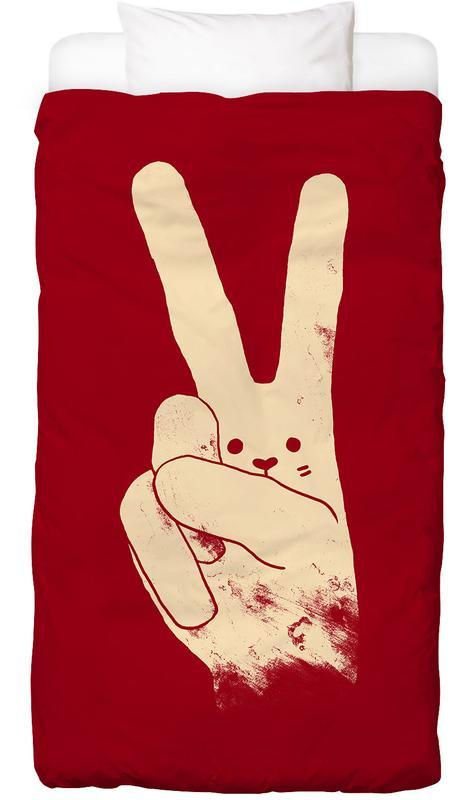 Love, Peace and Carrots -Kinderbettwäsche