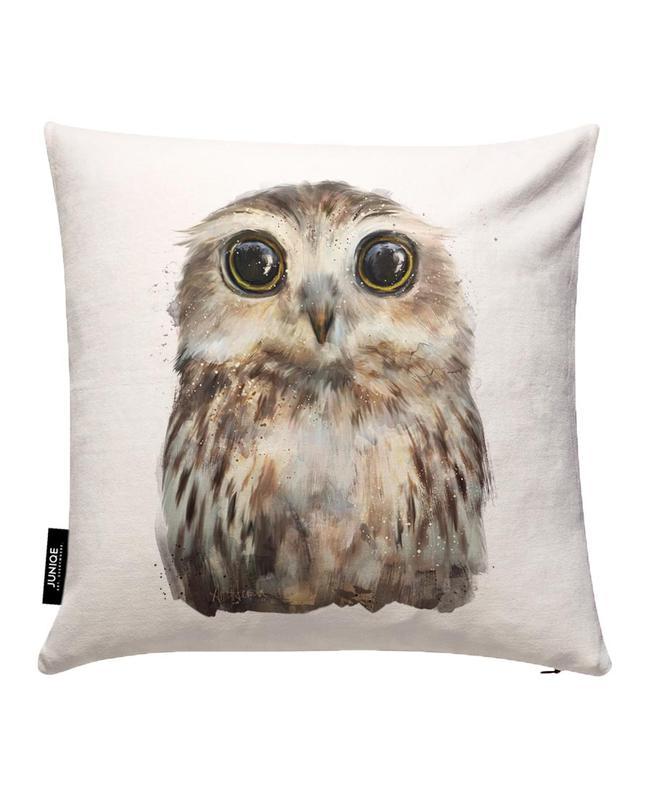 Little Owl Cushion Cover