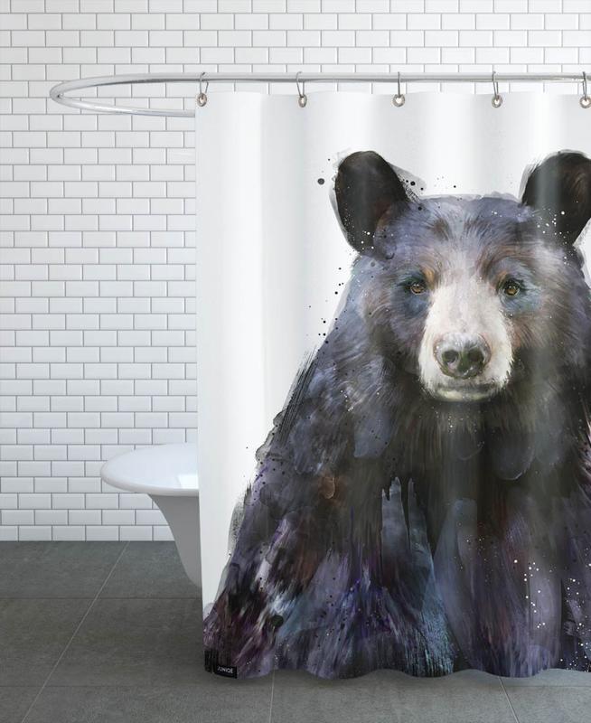 Black Bear -Duschvorhang