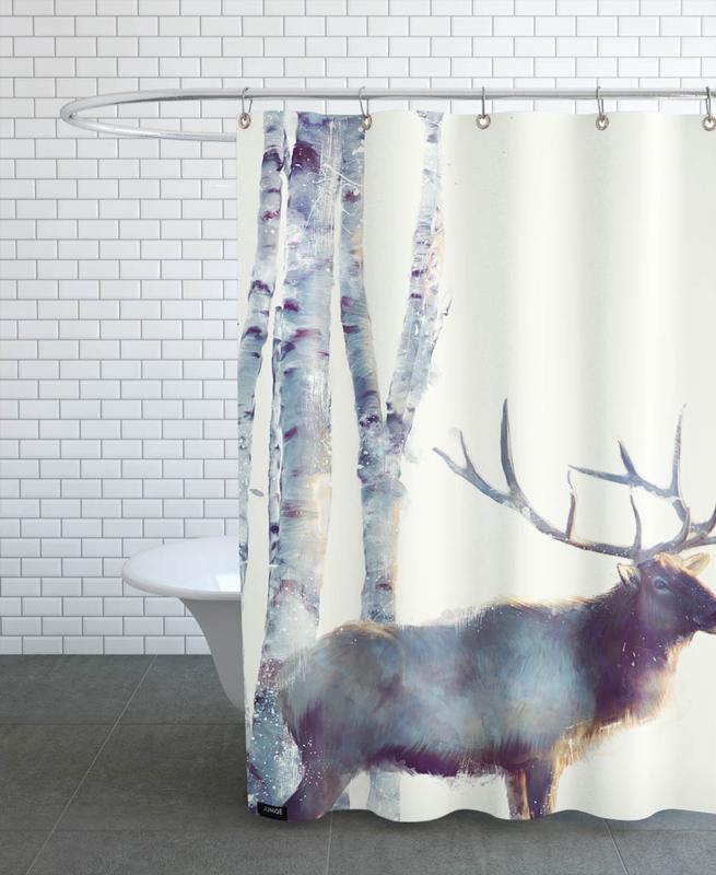 Follow Shower Curtain