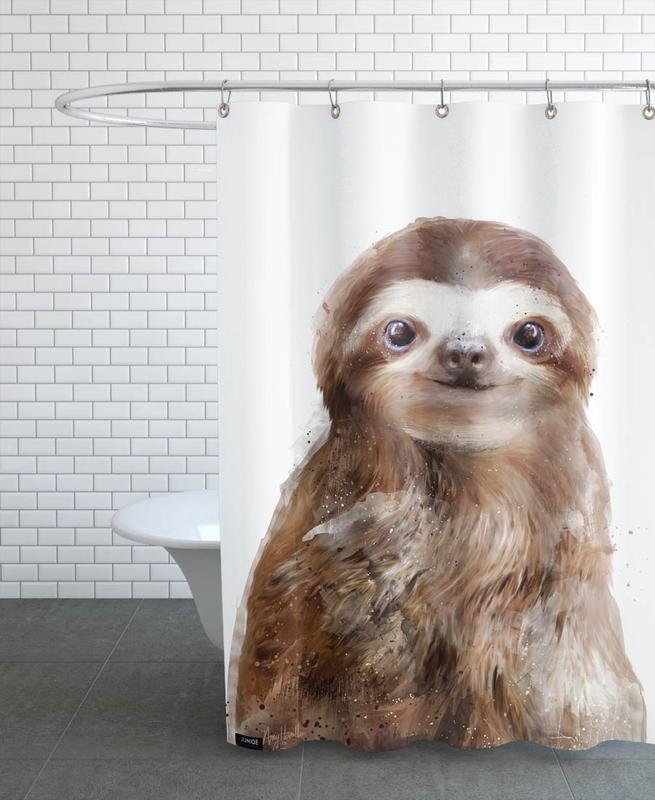 Little Sloth -Duschvorhang