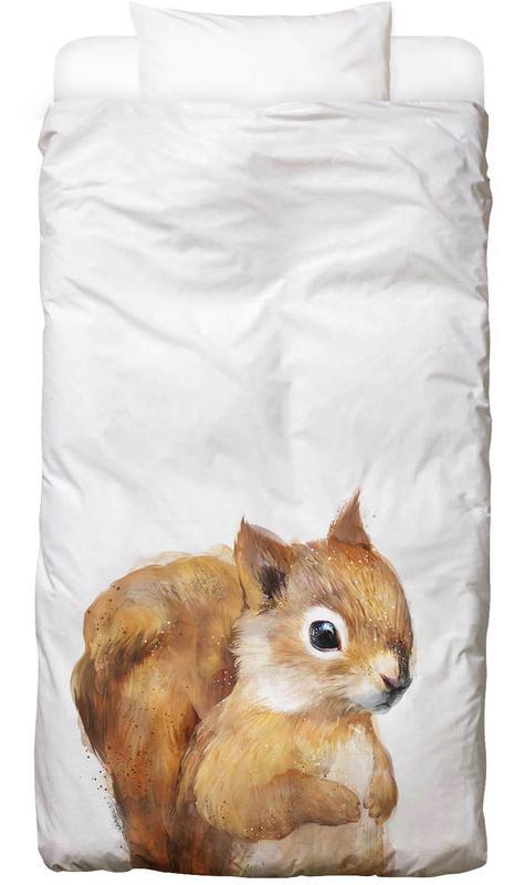 Little Squirrel -Kinderbettwäsche