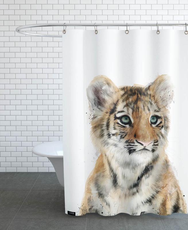 Little Tiger -Duschvorhang