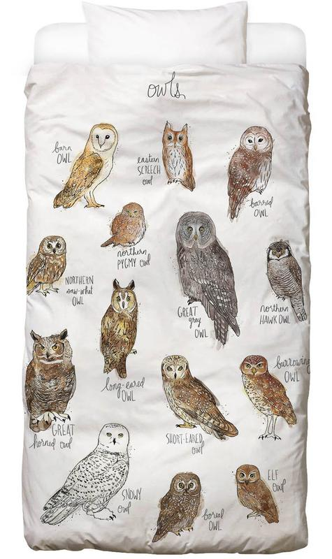 Owls Kids' Bedding