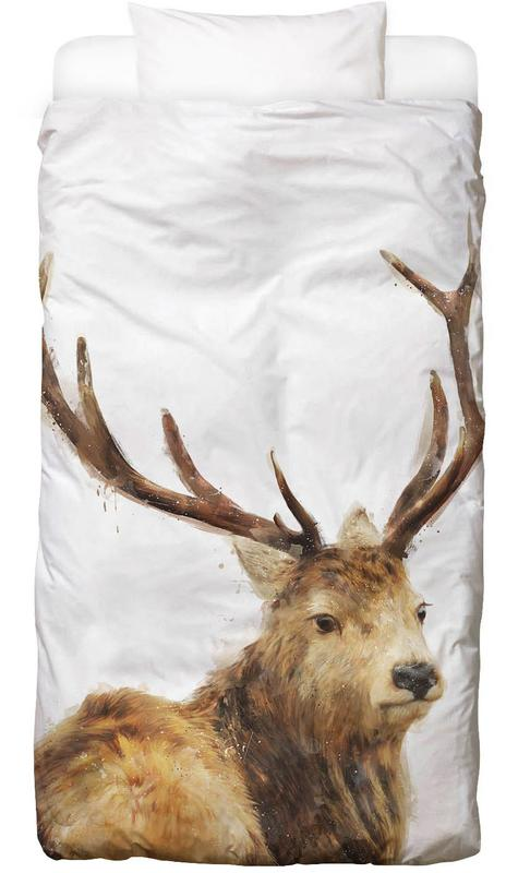 Winter Red Deer Kids' Bedding