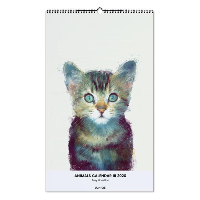 Animals Calendar III 2020 - Amy Hamilton -Wandkalender