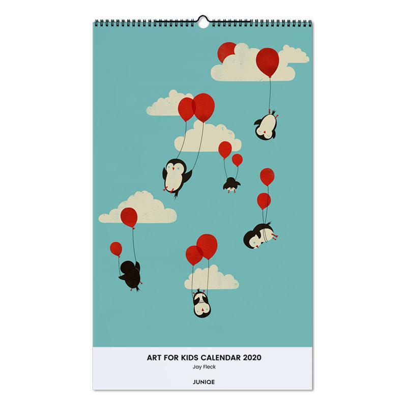 Art For Kids Calendar 2020 - Jay Fleck -Wandkalender
