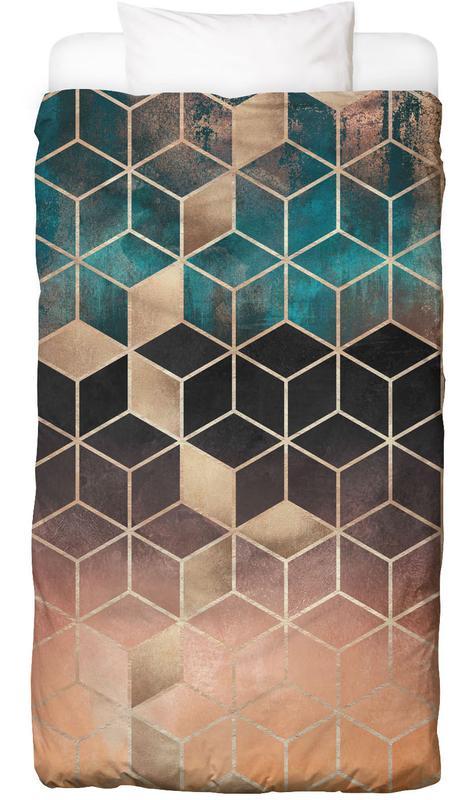 Ombre Dream Cubes Bettwäsche