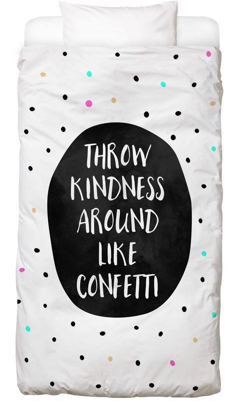 Throw Kindness -Kinderbettwäsche