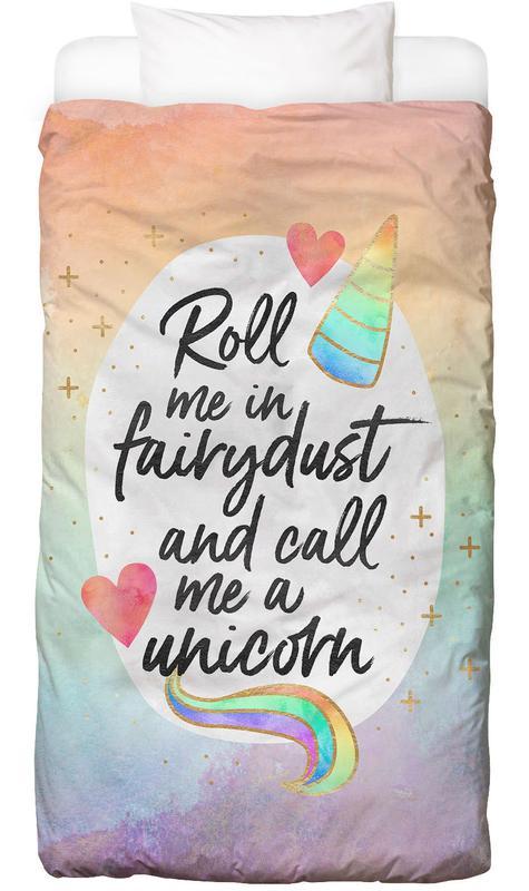 Roll Me in Fairydust -Kinderbettwäsche