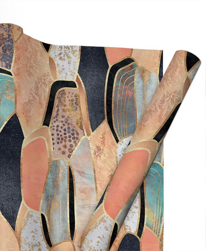 Muster, Pretty Stone 1 -Geschenkpapier