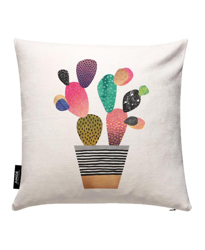Happy Cactus Kissenbezug