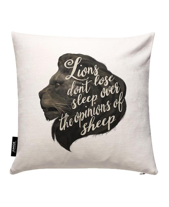 Lions Cushion Cover