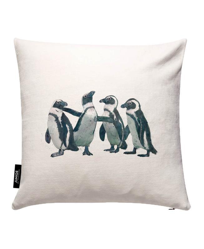 Penguins Housse de coussin