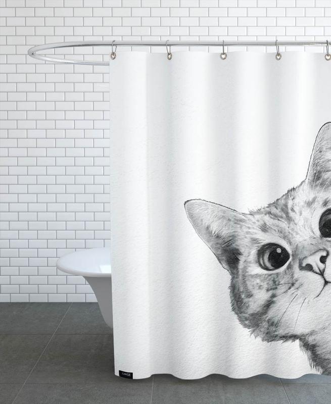 Sneaky Cat -Duschvorhang