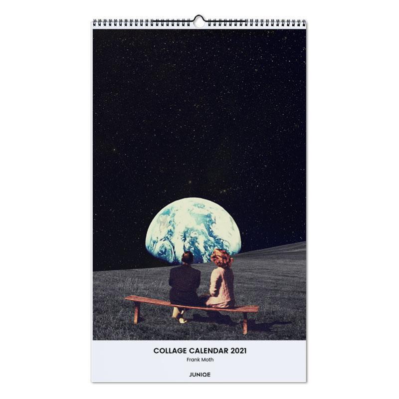 Dromerig, Frank Moth - Collage Calendar 2021 Calendar 2021 wandkalender