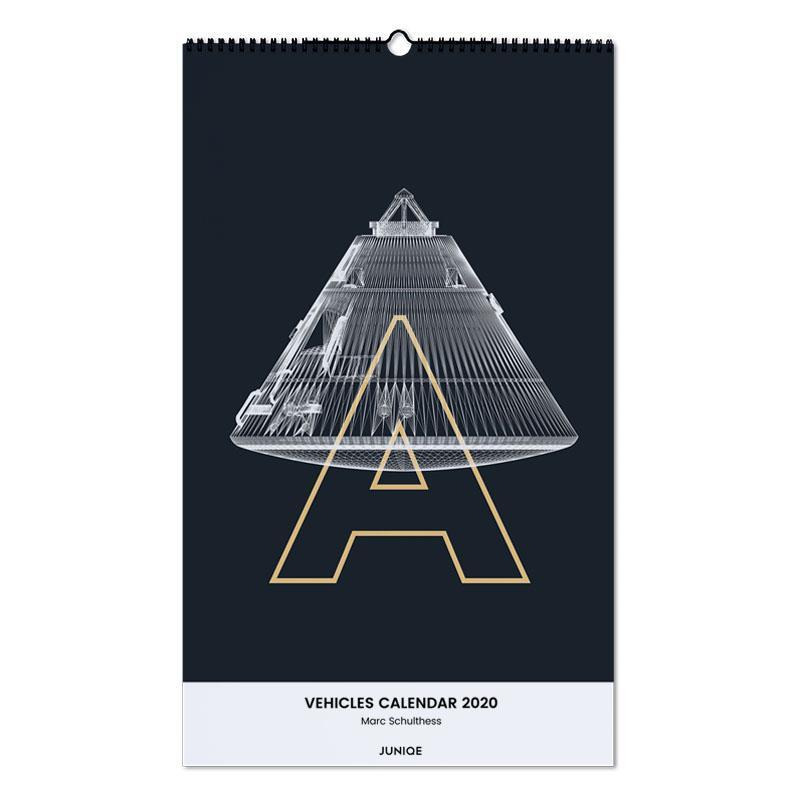 Vehicles Calendar 2020 - Marc Schulthess -Wandkalender