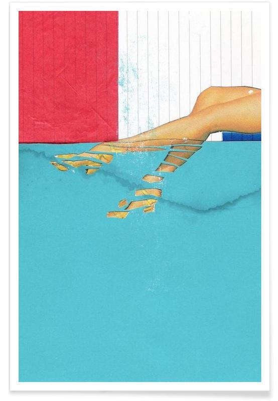 Détails corporels, Underwater affiche