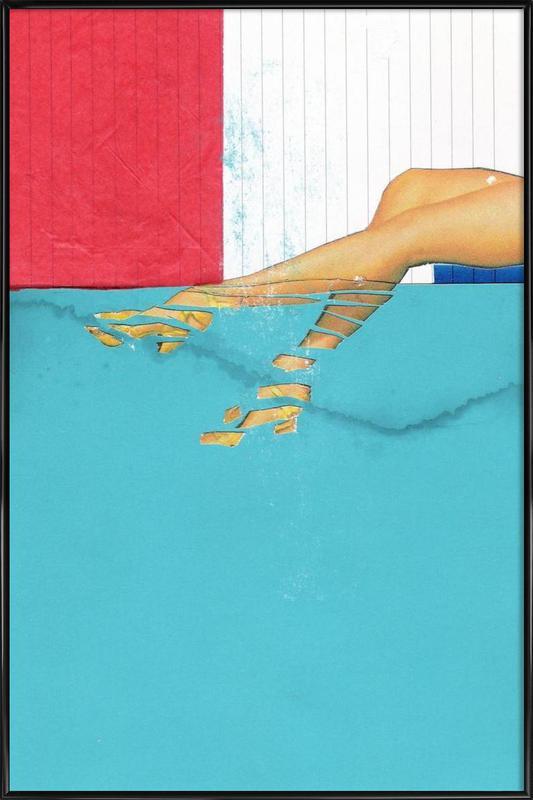 Underwater affiche encadrée