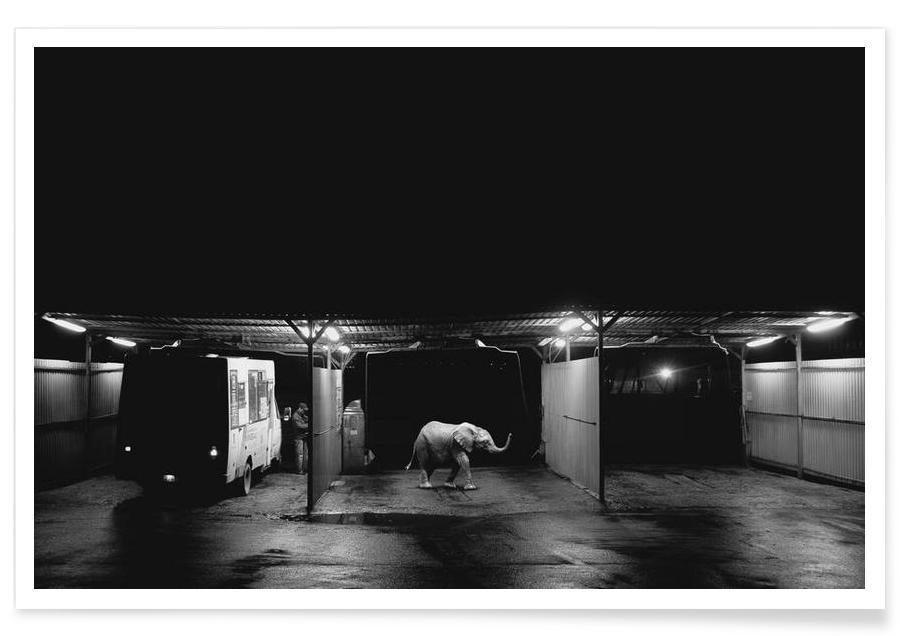 Night car wash -Poster