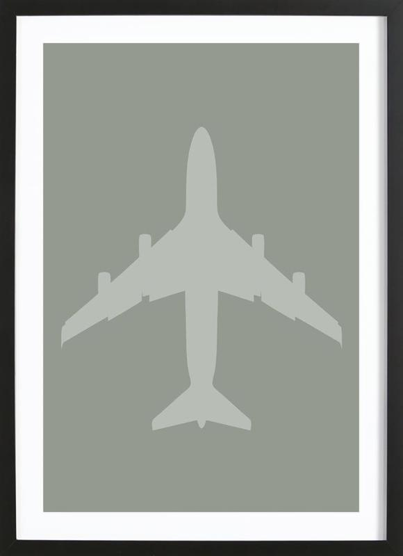 The Jet Poster Framed Print