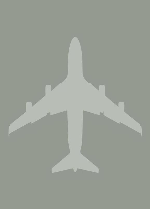 The Jet Poster -Leinwandbild