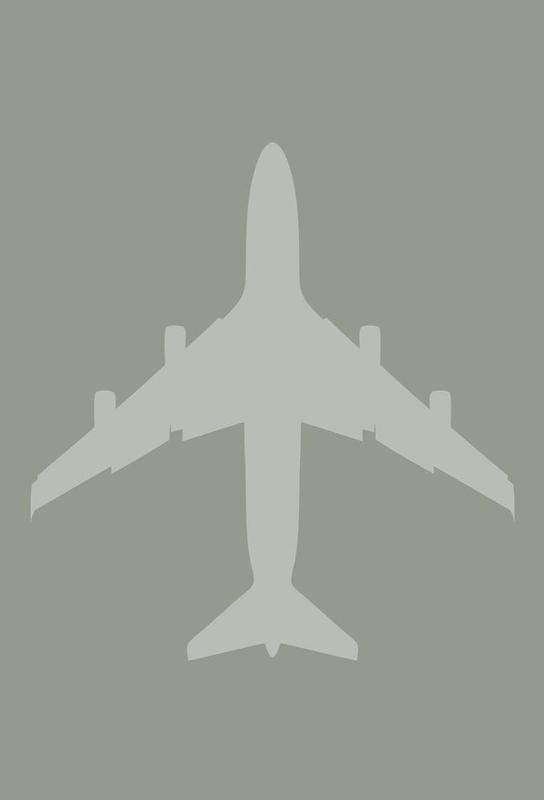 The Jet Poster -Alubild