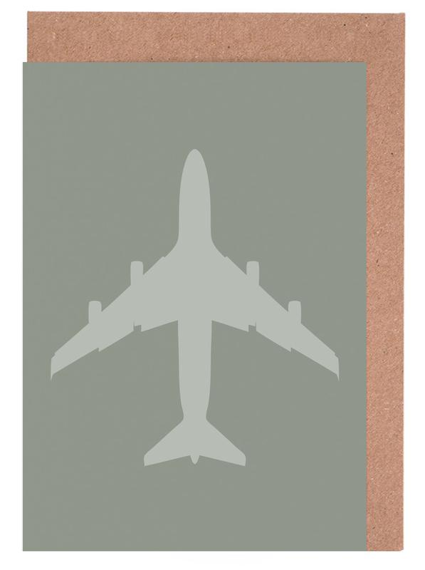 Vliegtuigen, The Jet Poster wenskaartenset