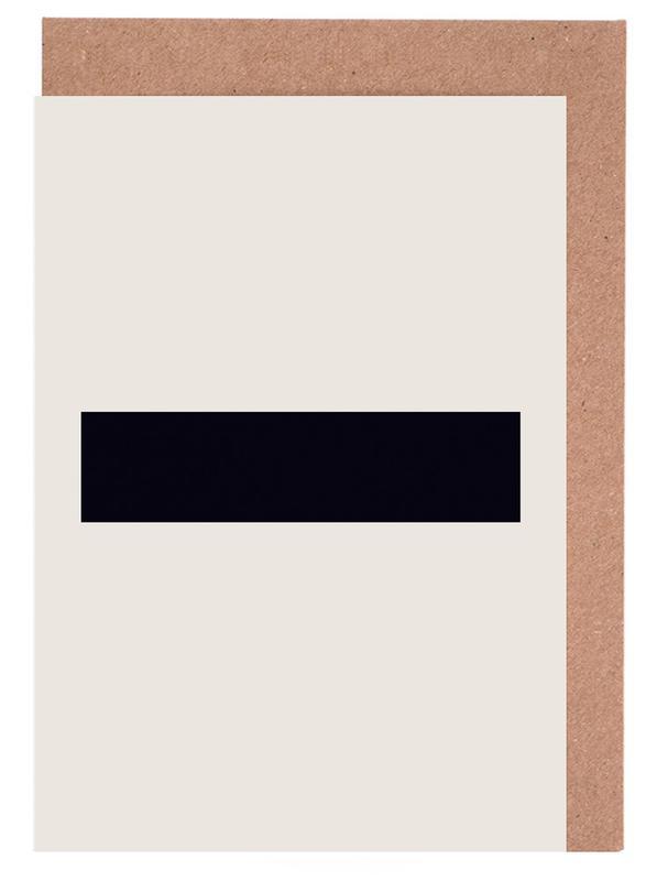 Zwart en wit, Symbolen, The Minus Poster wenskaartenset