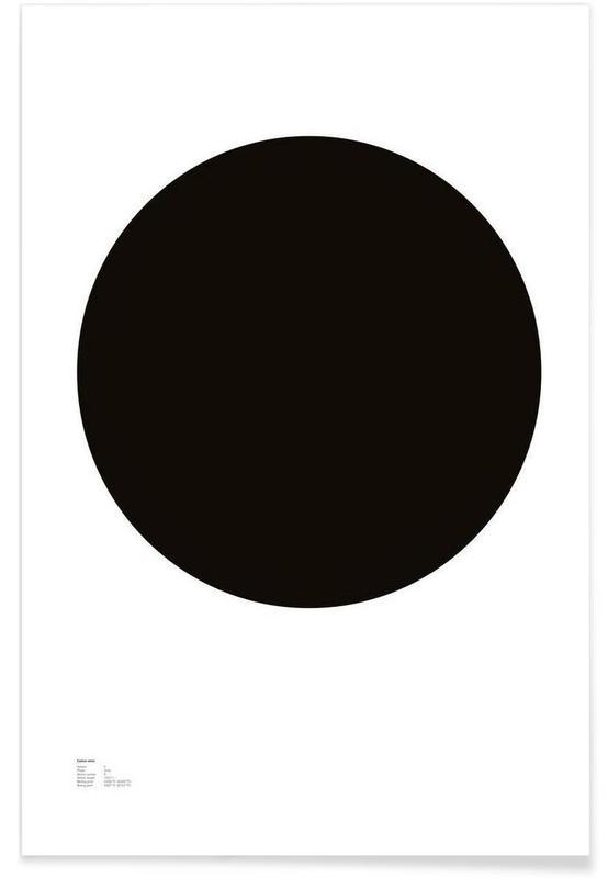 Noir & blanc, Symboles, The Carbon Poster affiche