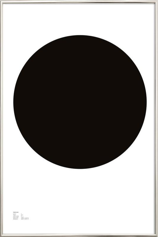 The Carbon Poster -Poster im Alurahmen