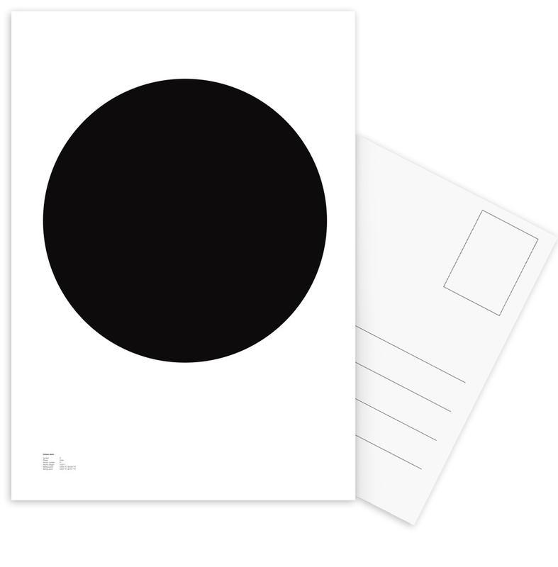 Zwart en wit, Symbolen, The Carbon Poster ansichtkaartenset