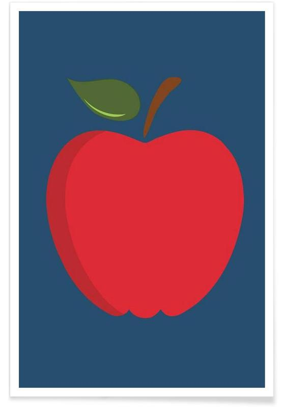 The Red Apple Poster affiche
