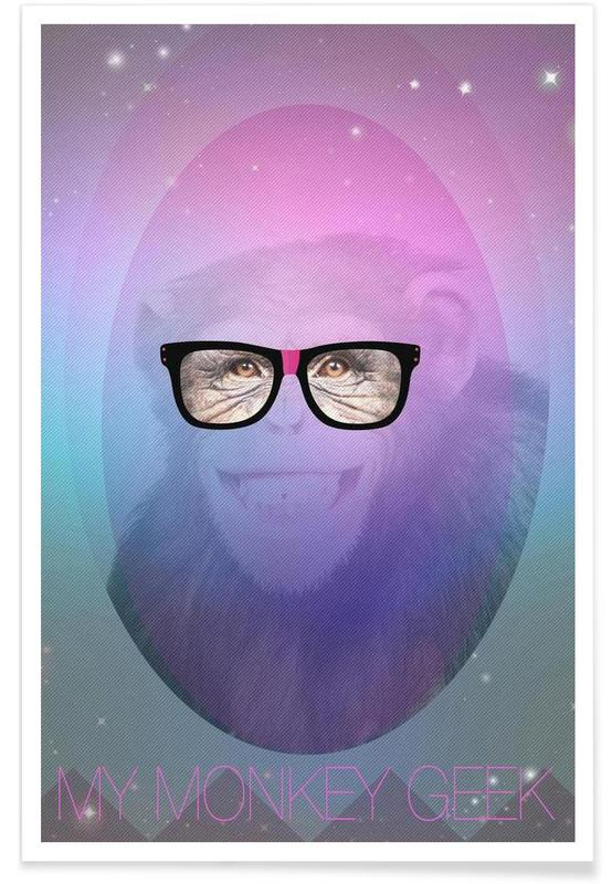 My Monkey Geek -Poster