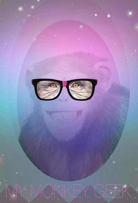 My Monkey Geek -Alubild