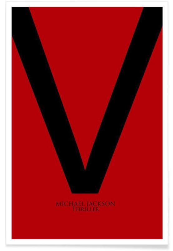 Michael Jackson, Thrill V affiche