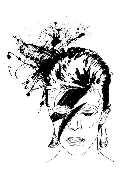 David -Acrylglasbild